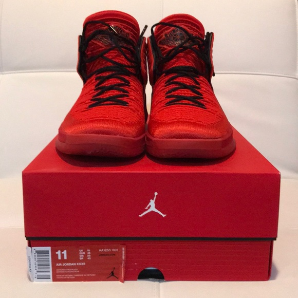 "best website 88c81 e98ba Air Jordan XXXII ""ROSSO CORSA"" in size 11. M 5ae65ed38290afd55a5932d4"